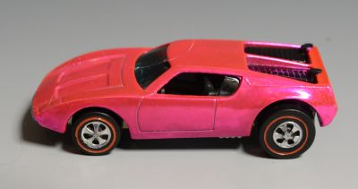 CARS & TRUCKS : Hot Wheels Redline AMX/2, 1970 Hong Kong, PINK?