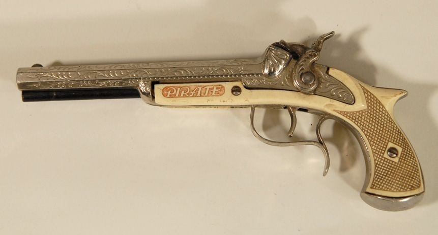 Hubley Pirate, Flint Lock style Cap Gun