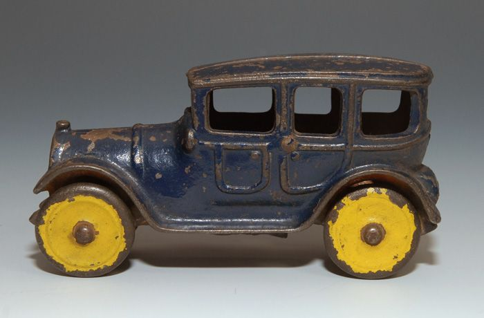 Hubley or Dent Cast Iron Touring Car 1920s