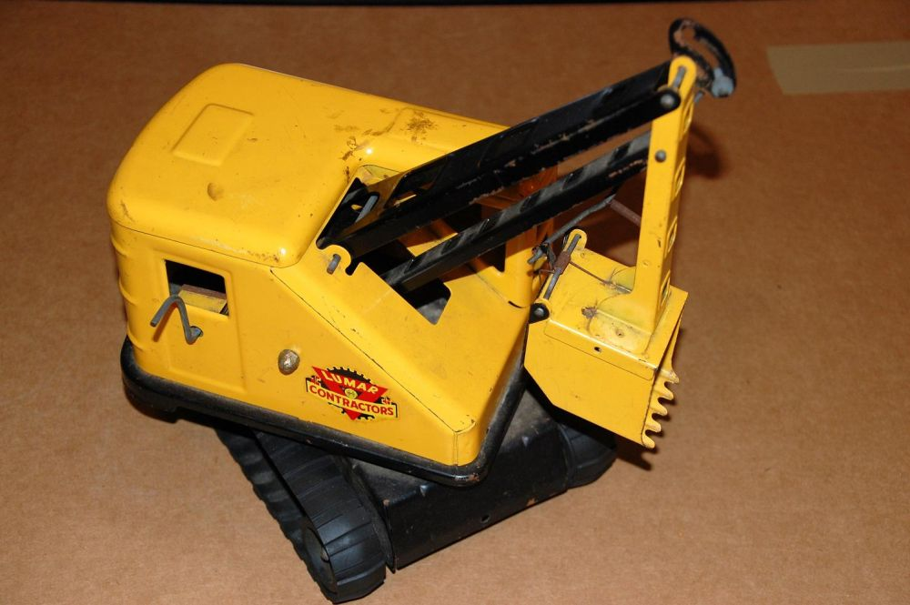 Marx Power Shovel truck