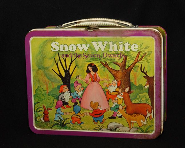 Snow White Lunch Box, Ohio Art 1980