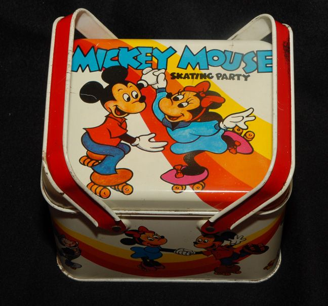 Mickey Mouse Skating Party Lunch Pail, Disney