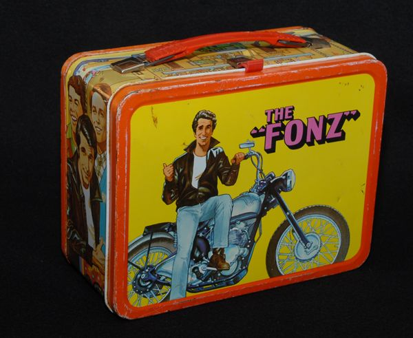 The Fonz Lunchbox, 1976 Thermos brand