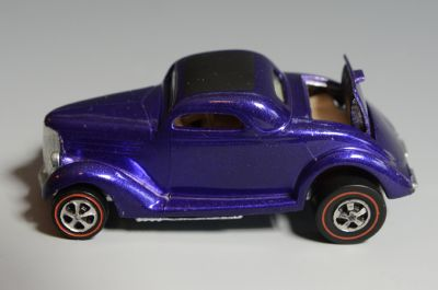 Hot Wheels Redline Classic 36 Ford Coupe 1968, Purple