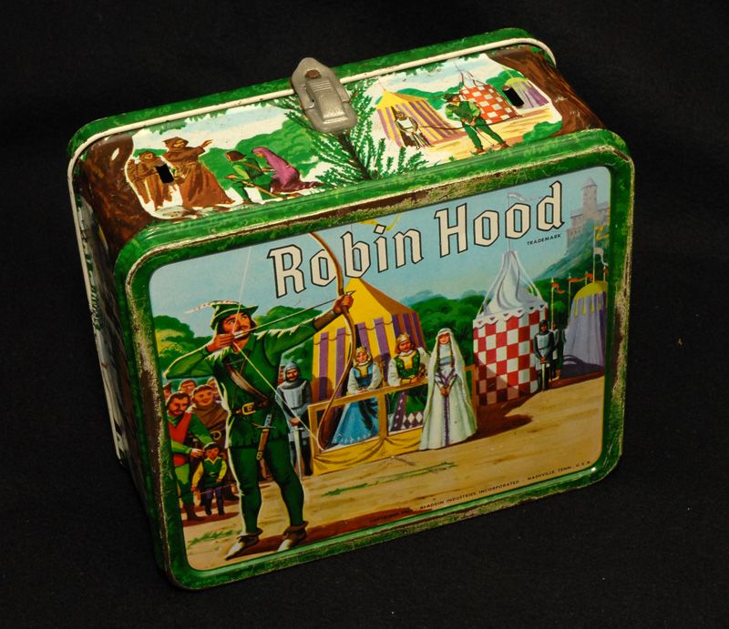 Robin Hood Lunch Box, 1956 Aladdin