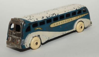 Arcade Greyhound Bus, c. 1938, EXCELLENT