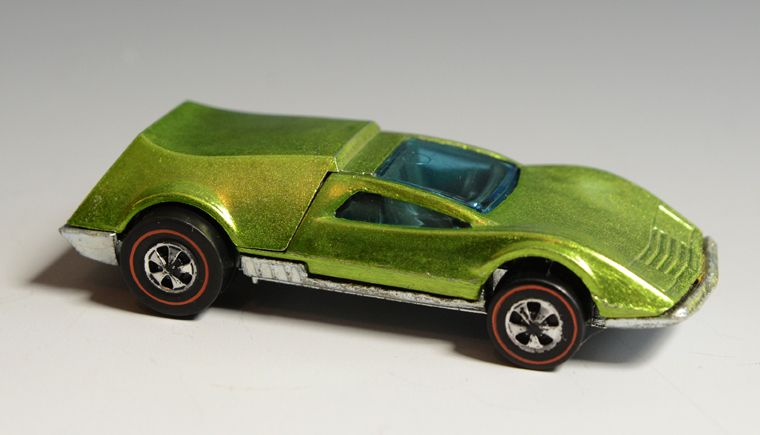 Hot Wheels Redline Tri-Baby, Lime, 1969