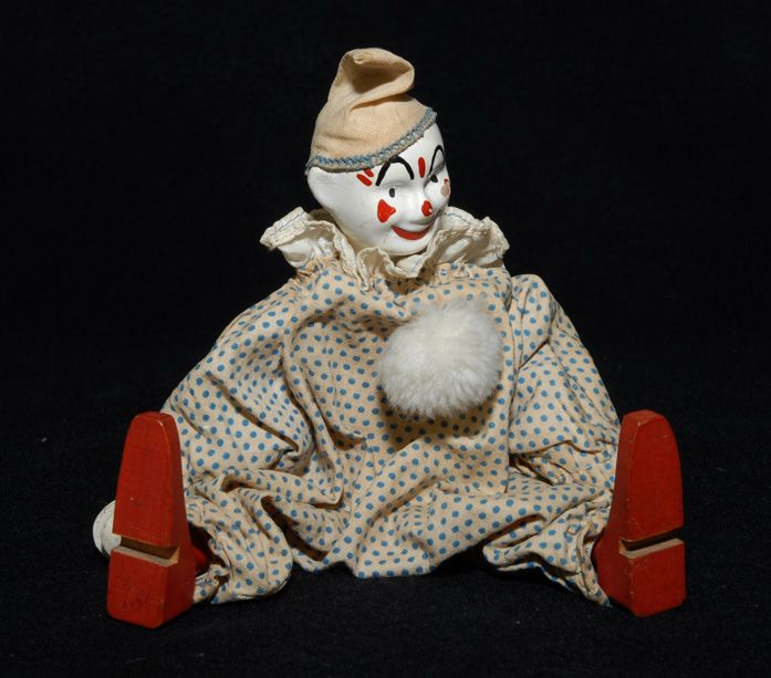 Shoenhut Humpty Dumpty Circus CLOWN