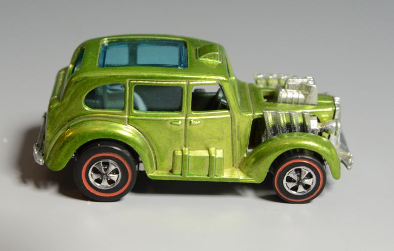 Hot Wheels Redline Cockney Cab, Lime Green, 1970