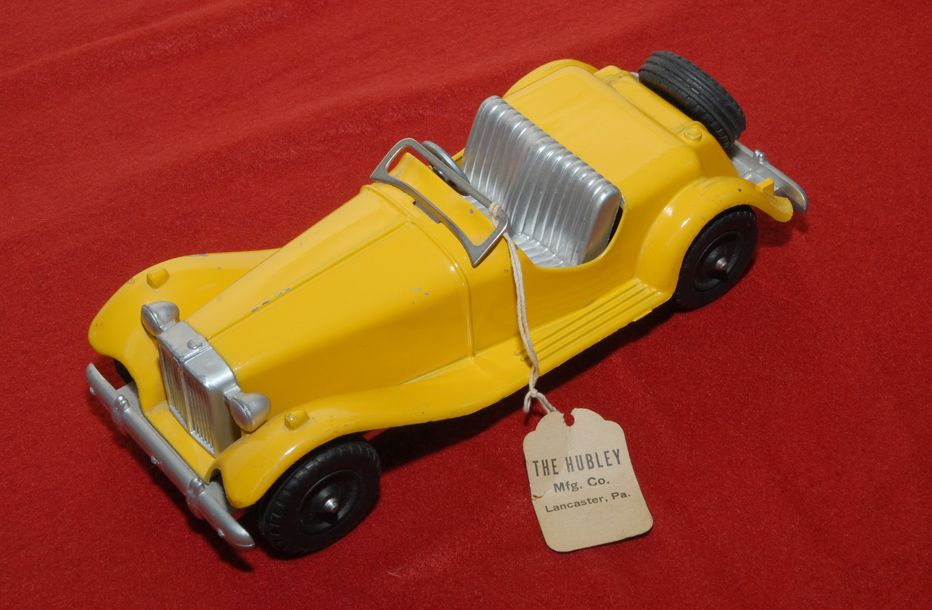 Hubley Kiddie Toy MG, Salesman Sample!