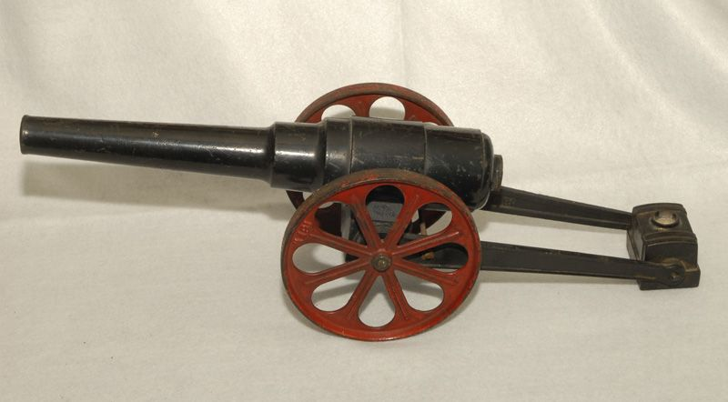 Cast Iron Toy Cannon, 22-inch, EARLY!