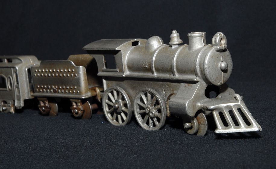 Nickel Plated Passenger Train, Kenton, 1920s NICE!