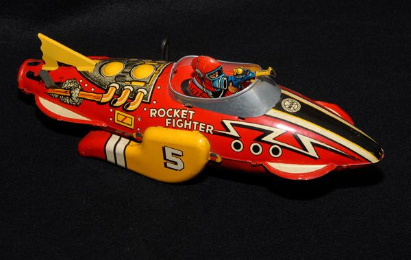 Marx Rocket Fighter, EXCELLENT!