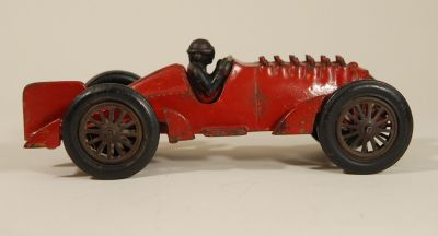 Hubley Golden Arrow Racer with Animated Exhaust - ORIGINAL