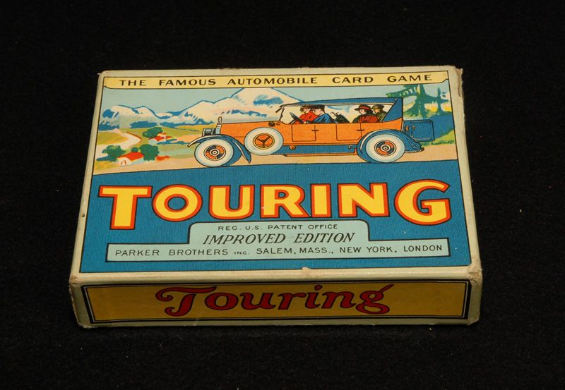 TOURING Card Game, Parker Bros. 1926